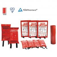 China EN1869 Standard Emergency Fire Blanket Smoothness For Homes And Small Fires wholesale