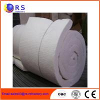 China White Ceramic Insulation Blanket For Boiler / Refractory Ceramic Fire Blanket wholesale