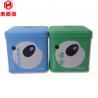 China 50g Food Grade Packaging Small Rectangular Metal Square Tea Tin Box wholesale