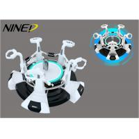 China 360 Interactive 9D VR Machine / Adventure Extreme Shooting Rotation Game Simulator wholesale