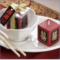 China Double happiness candle wholesale