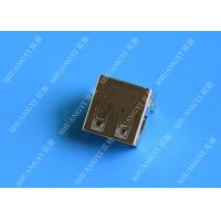 Buy cheap Female Straight Pin USB Charging Connector With 30 MΩ Contact Resistance from wholesalers