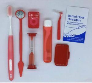 China Dental Orthodontic Oral Kit Dental Brush Ties Toothbrush Interdental brush Floss Oral Care Kit on sale