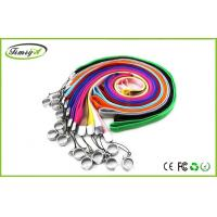 China Colorful eGo W E Cig Accessories Ego Lanyard / Ego Necklace , 1mm 0.8mm Thickness on sale
