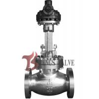 China API Cast Steel Butt Weld Globe Valve Hardfaced HF Bolted Bonnet Bevel Gear Operated 900LB wholesale