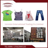 China High quality second hand clothing export on sale
