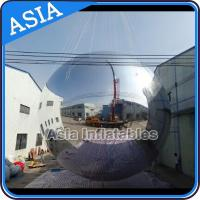 China Silver Customized 8m Advertising Inflatable Commercial Mirror Balloon wholesale