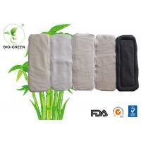 China Most Absorbent Bamboo Cloth Diaper Inserts Double Elastic Gussets Available wholesale