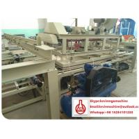 China Auto Raw Material Feeding Wall Panel Roll Forming Machine , Straw Board Wall Panel Machine wholesale