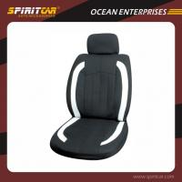 China Polyester Black Comfortable Car Interior Accessories , Full Set Luxury Car Seat Cover on sale
