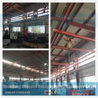 China Free Standing Work Station Type Monorail Overhead Crane , Ceiling Mounted Monorail Crane System wholesale