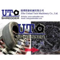 China Car/truck tyre crushing machine, waste tire shredder, double shaft shredder/used tyre recycling machine wholesale