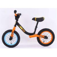 China 12 14 No Pedal High Carbon Steel Children Balance Bike Balance Bicycle For Kids Finish Matte With Lock-out Seat Clamp on sale
