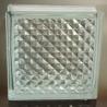China Le trellis modelé a isolé les blocs en verre avec beaucoup de tailles wholesale