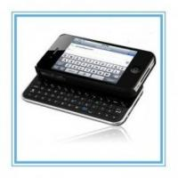 China Detachable Plastic Folding Wireless Portable Bluetooth ergonomic Keyboard For Iphone 4 on sale