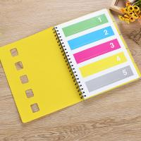 China PP Material Cover Spiral Bound Notebook Customized Design Promotional Gifts on sale