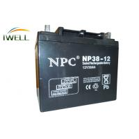 12V 38Ah Sealed Rechargeable Lead Acid Battery Solar Power Storage Batteries