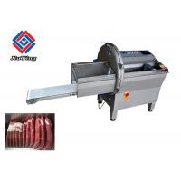 China CE Beef Meat Processing Machine For Frozen Bacon Fish Fillet Cutting With 200 Piece Per Min on sale
