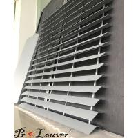 China Exterior louver, Privacy Louver Screen, Aluminum panel louver wholesale