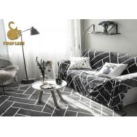 Buy cheap 100% Polyester Modern Floor Rugs For Living Room Customized Size / Design from wholesalers