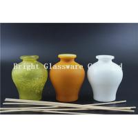 China Personal Care Glass Empty Perfume Bottle With Painting Different Color wholesale