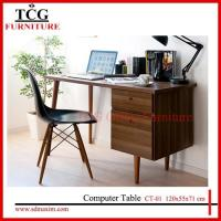 Buy cheap TCG 2015 new wooden computer desk CT-01 from wholesalers