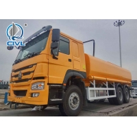 China New Sinotruk Howo7 Water Carrying Tanker Truck LHD 6X4 25CBM Drinking Water Truck wholesale