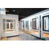 China Extruded Aluminium Door Profiles , Aluminium Window Profiles With Powder Coated Surface wholesale