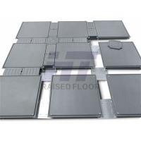 Steel Low Profile Raised Floor Trucking For Wires 500 x 500 mm