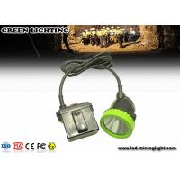 China 50000 Lux Opal Corded LED Mining Light Safety Hunting Miners Cap Lamp 11.2Ah Battery wholesale