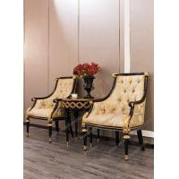 Buy cheap Italian designs chiavari king and queen golden chairs with table from wholesalers