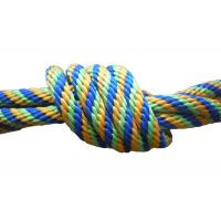 China Multicolor Braided nylon / Polypropylene Non Elastic Tape Rope spandex fabric pulley wholesale