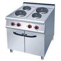 China JUSTA Electric 4-Plate Range Burner Cooking Range With Cabinet Western on sale