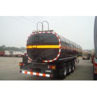 China 2017 new steel material  oil tanker  truck fuel tanks for sale wholesale