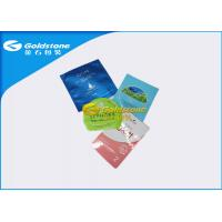 China Advanced Appearance Face Mask Flexible Packaging Bags Blue / Pink / Green Color wholesale