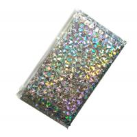 China Silver Decorative Holographic Bubble Mailers Custom Printing Color Design wholesale