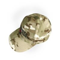 China Mens Outdoor Hiking Hat , Military Tactical Camo Baseball Cap With Printed Pattern wholesale