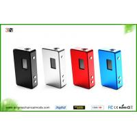 China Portable Variable Voltage E Cig 150W Mod Big Vapor Mechanical Mod wholesale