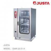 China JUSTA Electric Baking Oven 20-Tray 40-Pan Combi Steamer Computer Control System wholesale