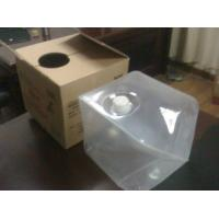 4L to 20L Cube Collapsible Plastic Container, LDPE Medical Gel Containers