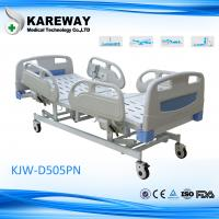 China Multifunction Electric Hospital Bed With Steel PP ABS Material , 5 Inch Caster wholesale