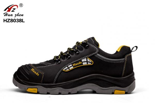 Quality PU / Rubber Outsole Composite Toe Athletic Shoes Sport Design For Mining for sale