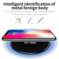 China Ultrathin Qi Wireless Charger Charging Dock Mat Pad For Samsung Galaxy S9 S8 S7 on sale