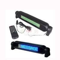 China Car 12V LED Message Sign Programmable Scrolling Display Board Blue 7*50 Dots wholesale