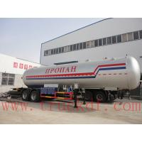 China ASME 2 axle LPG tank trailer 40500L for sale, factory direct sale 2 axles BPW propane gas tank semitrailer for sale wholesale