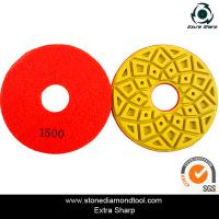 China 100mm marble floor pads for water polishing on sale