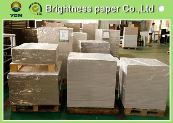 Quality Waterproof CCNB Grey Card Paper Board , Grey Recycled Paper Roll Eco Friendly for sale