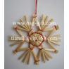 Straw stars & Straw christmas decorations