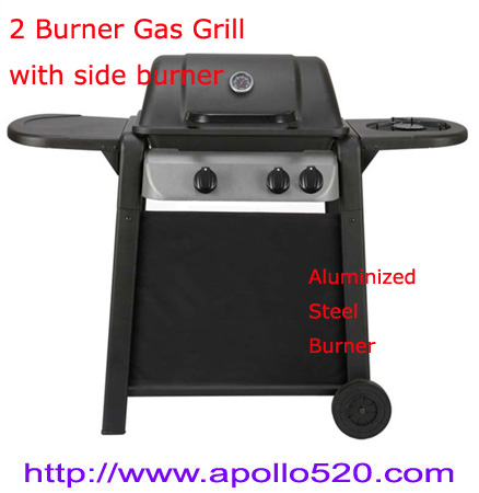 Quality Wholesale Gas Grill 2B+1B for sale