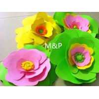 China Orange pink grass green white 1mm 10cm x10 cm origami roses Sponge Eva plastic DIY manual paper paper kindergarten wholesale